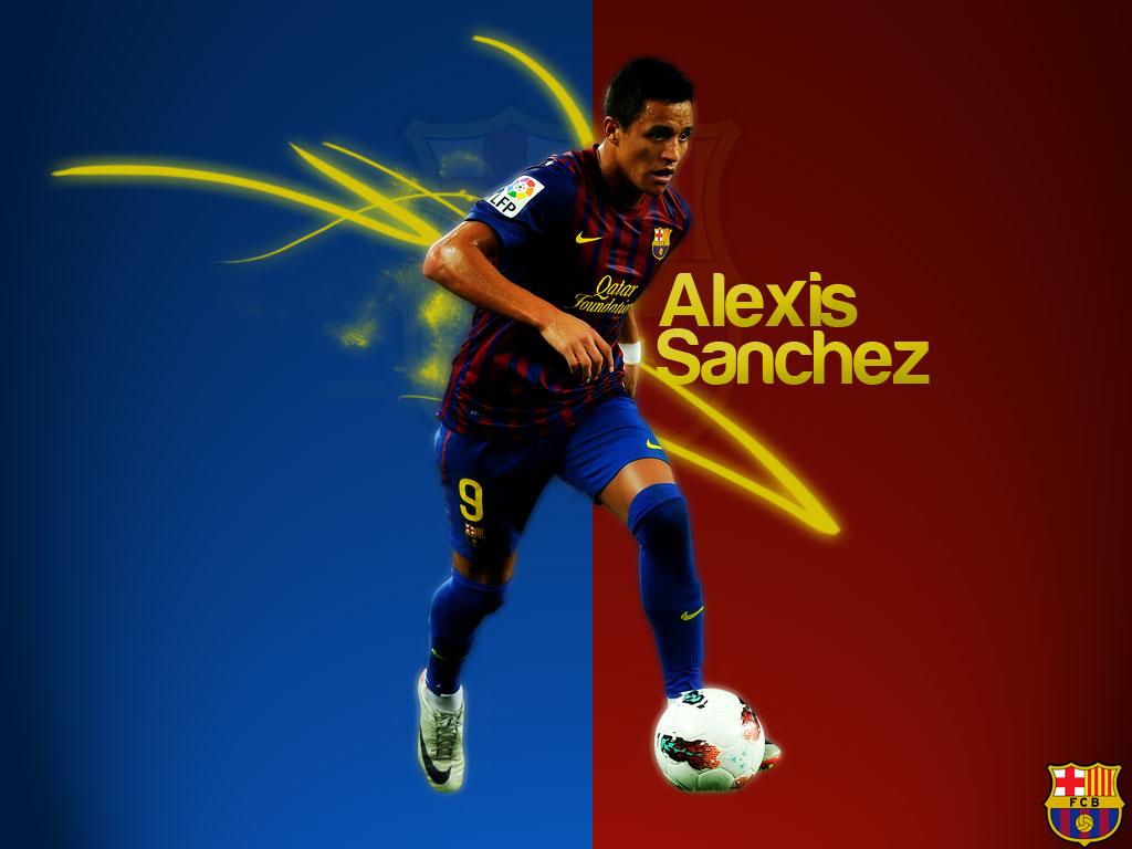 Alexis Sanchez Football Wallpaper