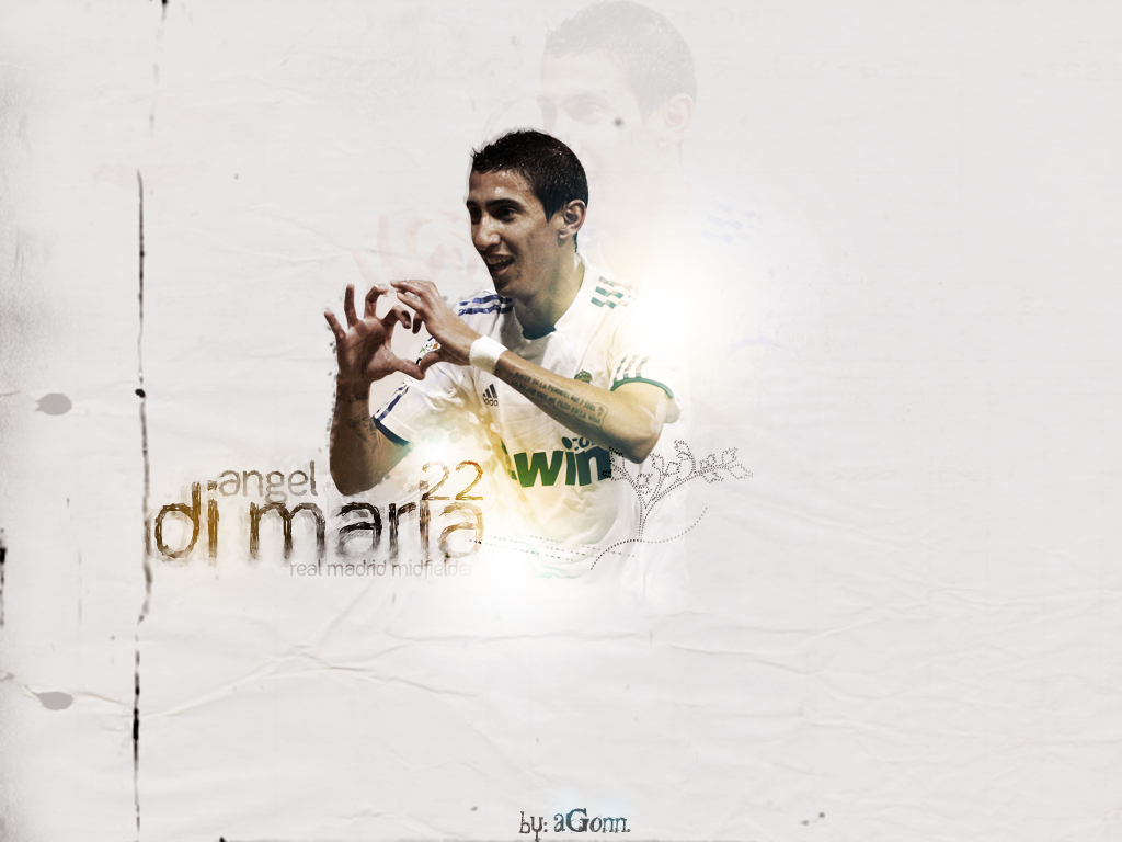 Angel Di Maria Football Wallpaper