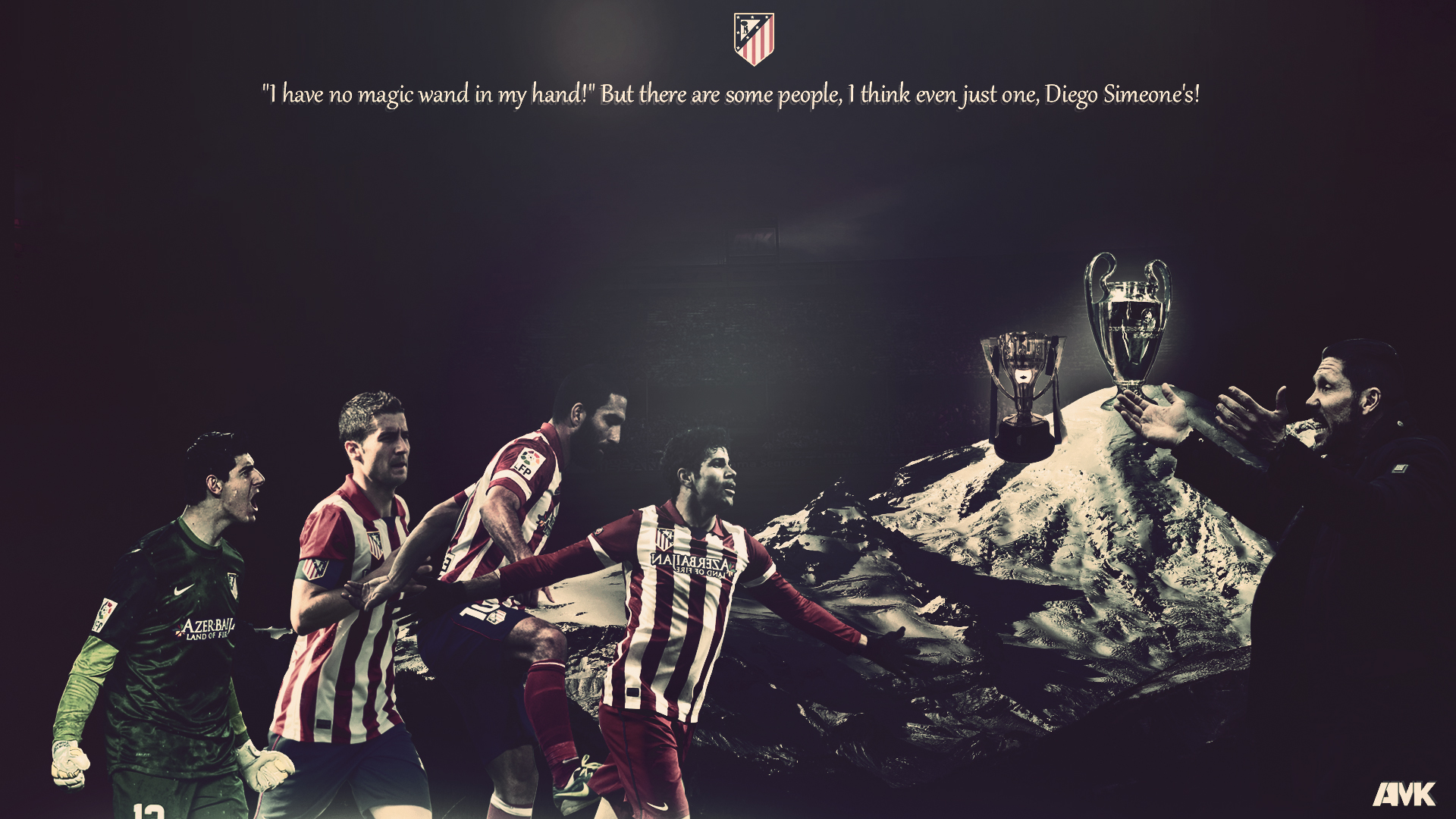 Atletico Madrid Football Wallpaper