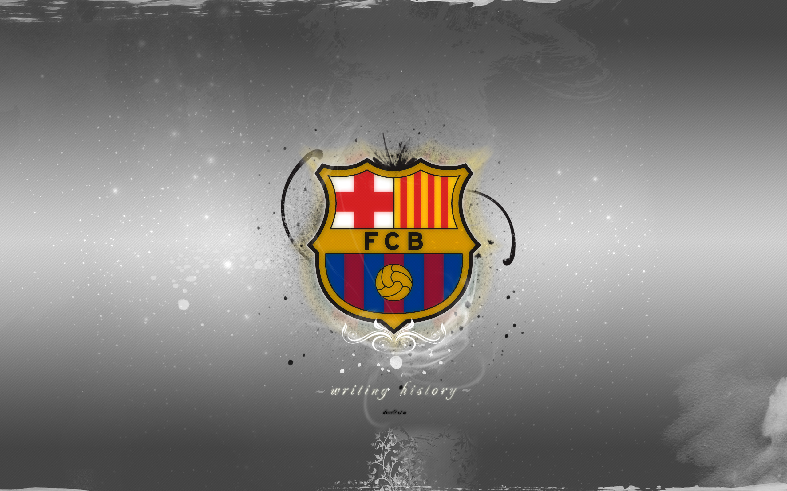 Barcelona FC Football Wallpaper