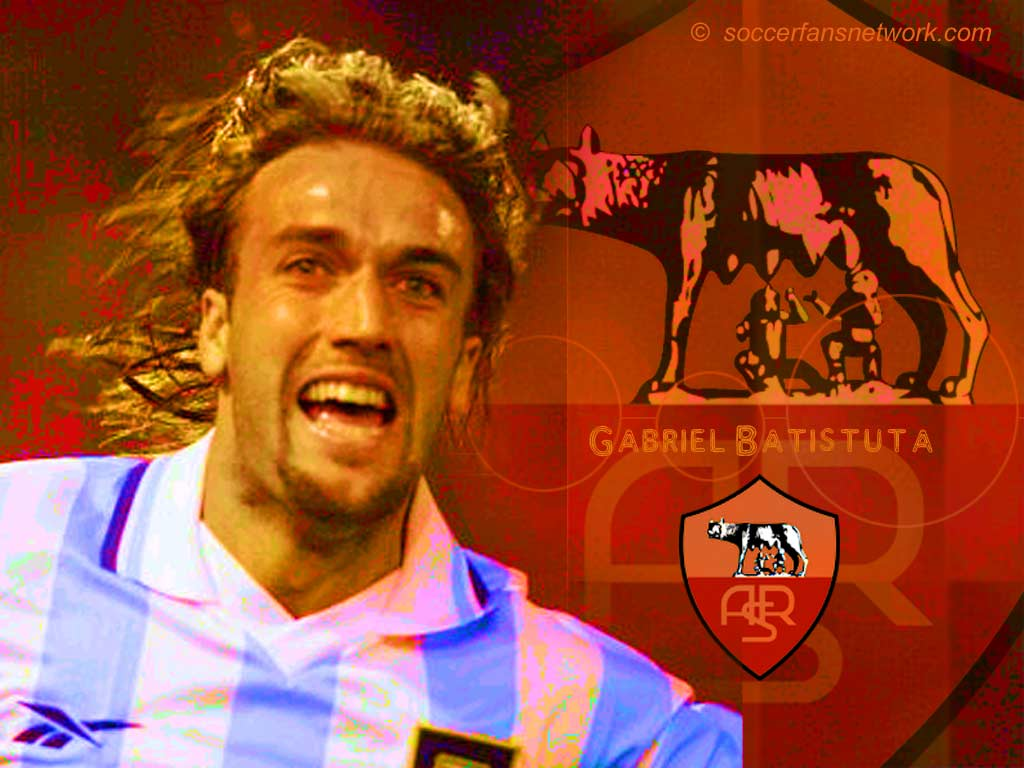 Fiorentina Wallpaper Ipad: Gabriel Batistuta Football Wallpaper, Backgrounds And Picture