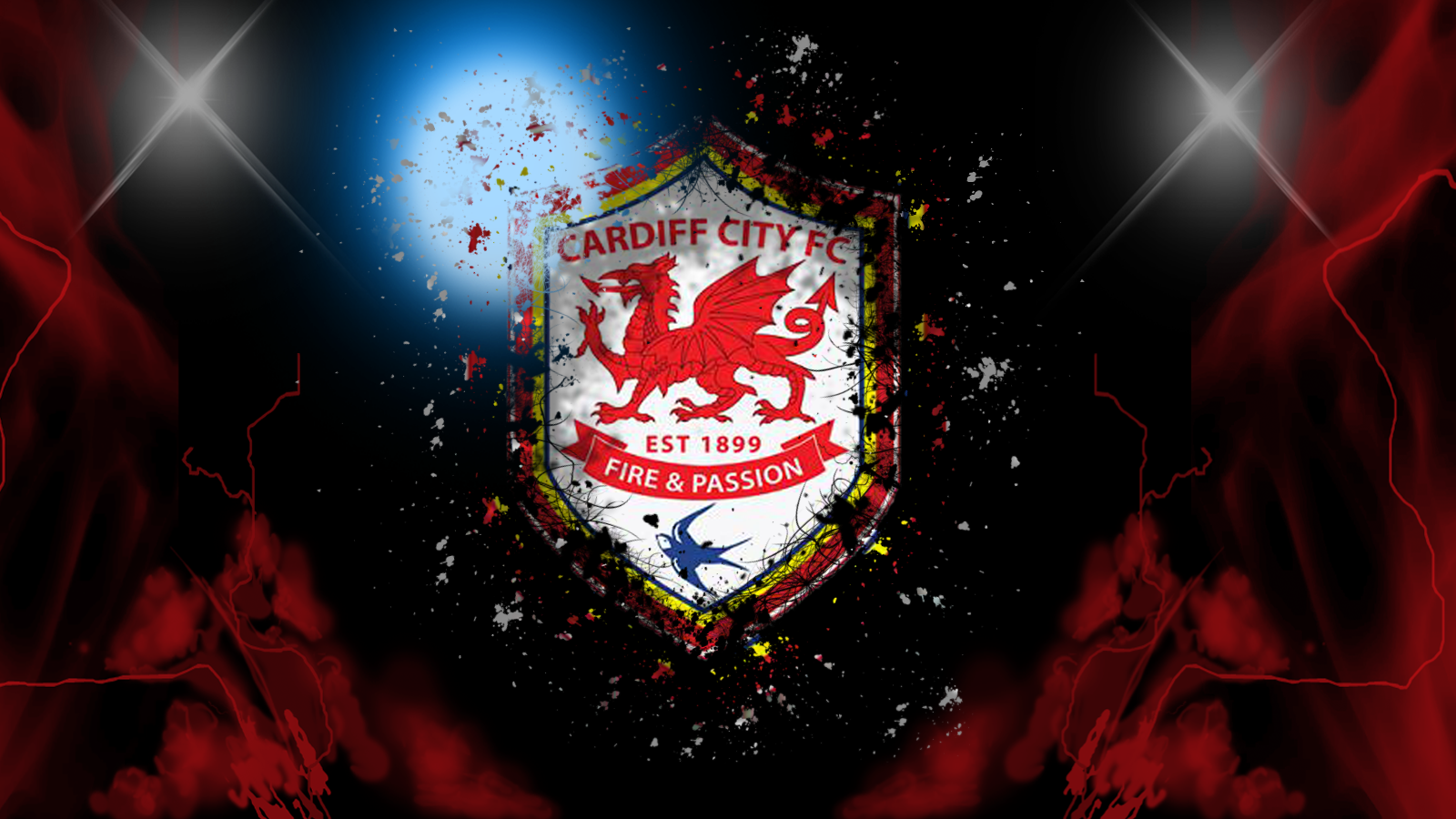 Cardiff City  Wallpaper