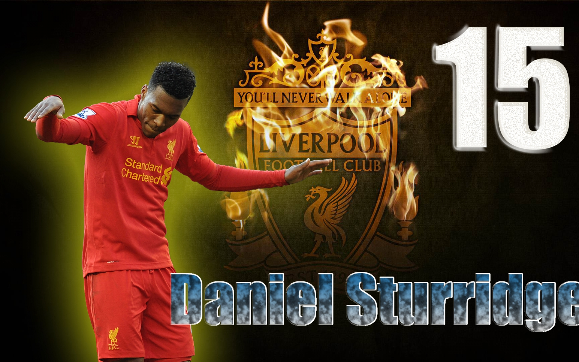 Daniel Sturridge Football Wallpaper