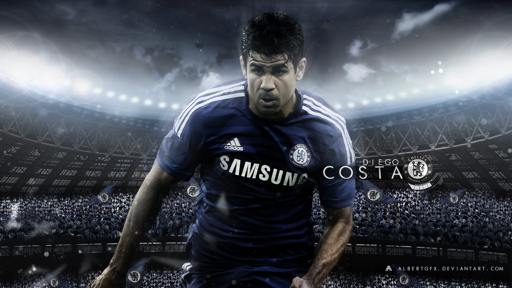 Diego Costa Football Wallpaper