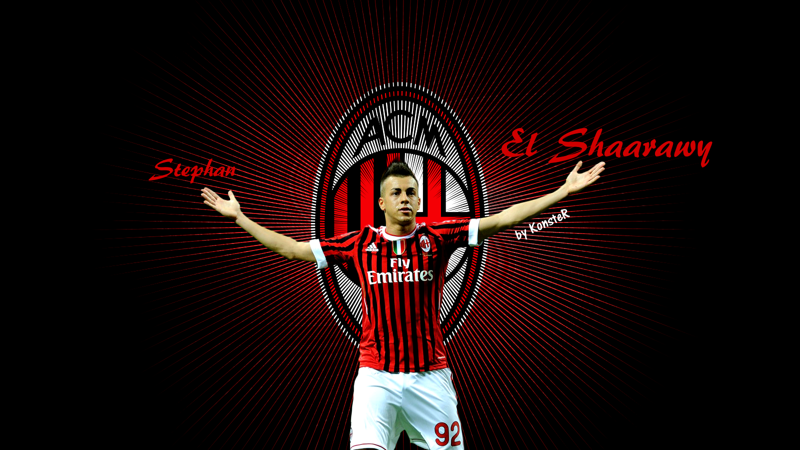 Stephan el shaarawy football wallpaper backgrounds and picture stephan el shaarawy wallpaper voltagebd Image collections