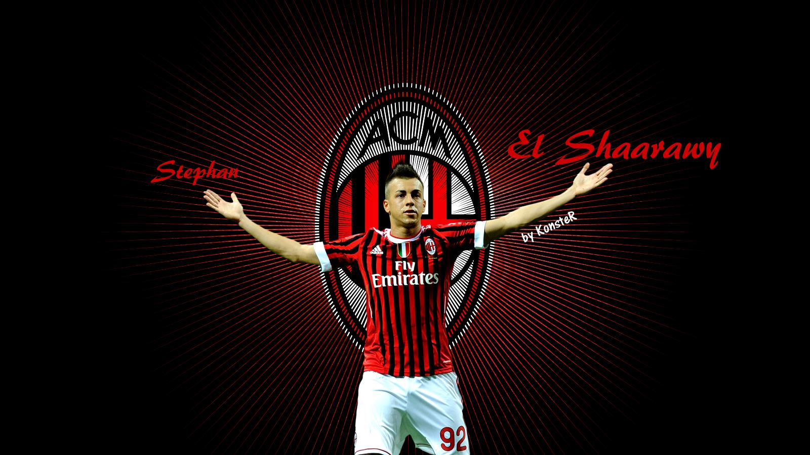 Stephan el shaarawy football wallpaper backgrounds and picture stephan el shaarawy wallpaper voltagebd Gallery
