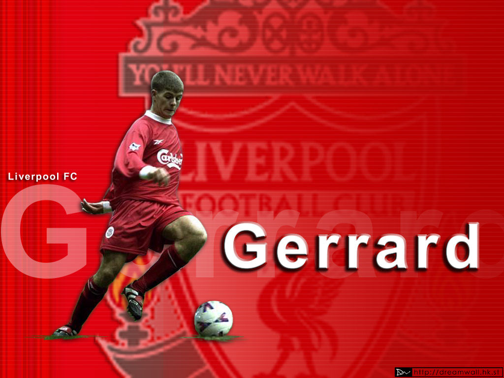 Steven Gerrard Football Wallpaper