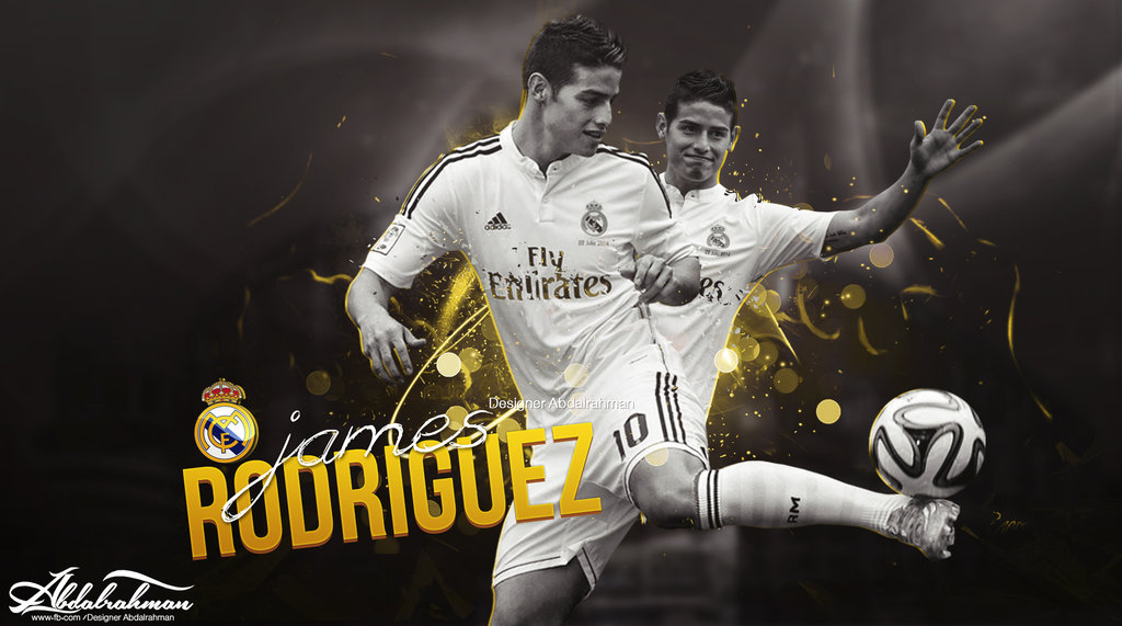 James Rodriguez Football Wallpaper