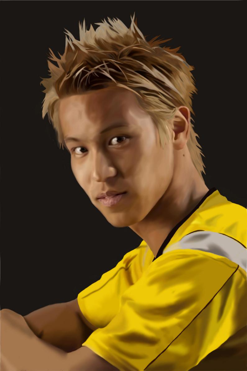 Keisuke Honda Football Wallpaper