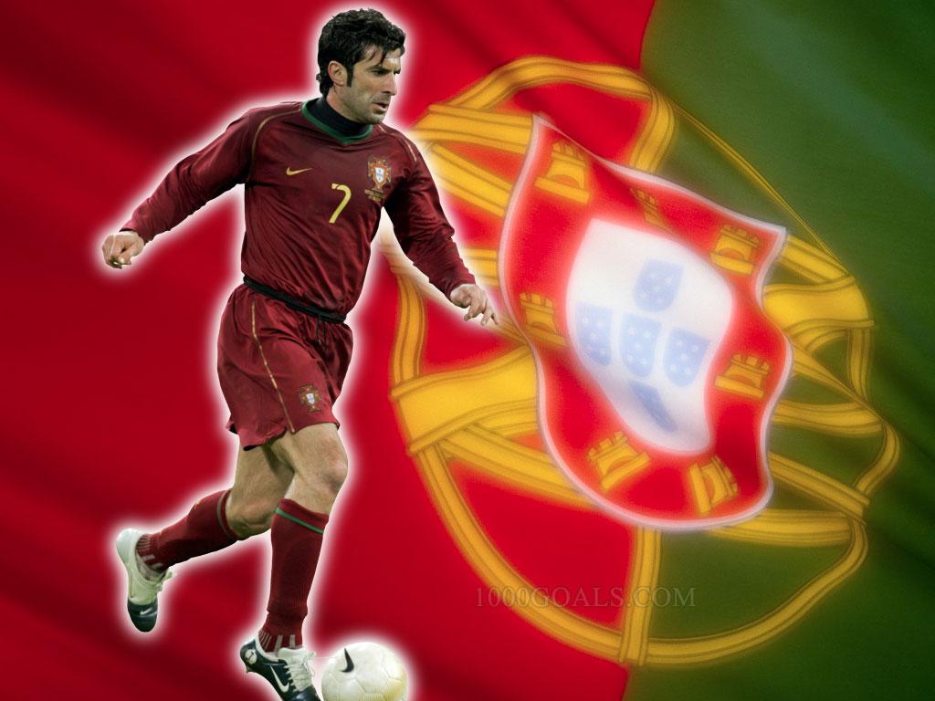 Luis Figo Football Wallpaper