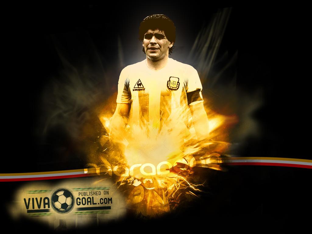 Diego Maradona Football Wallpaper