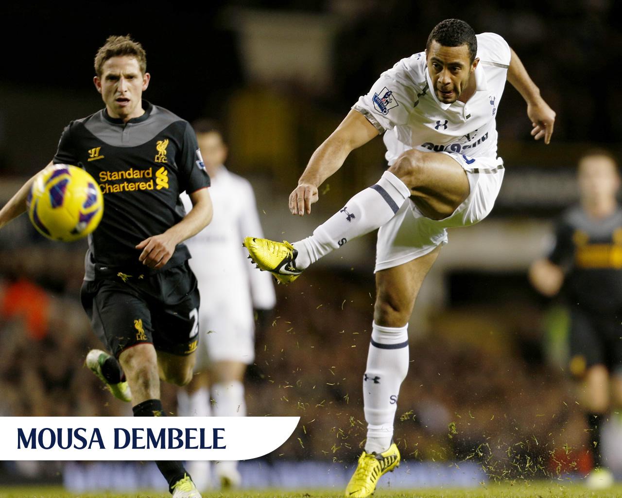 Mousa Dembele Football Wallpaper