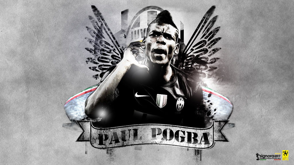 Paul Pogba Football Wallpaper, Backgrounds And Picture