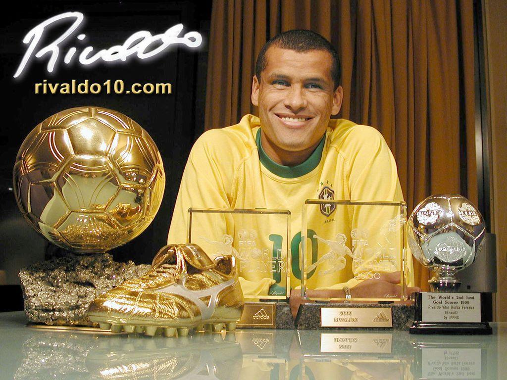Rivaldo Vtor Borba Ferreira Football Wallpaper