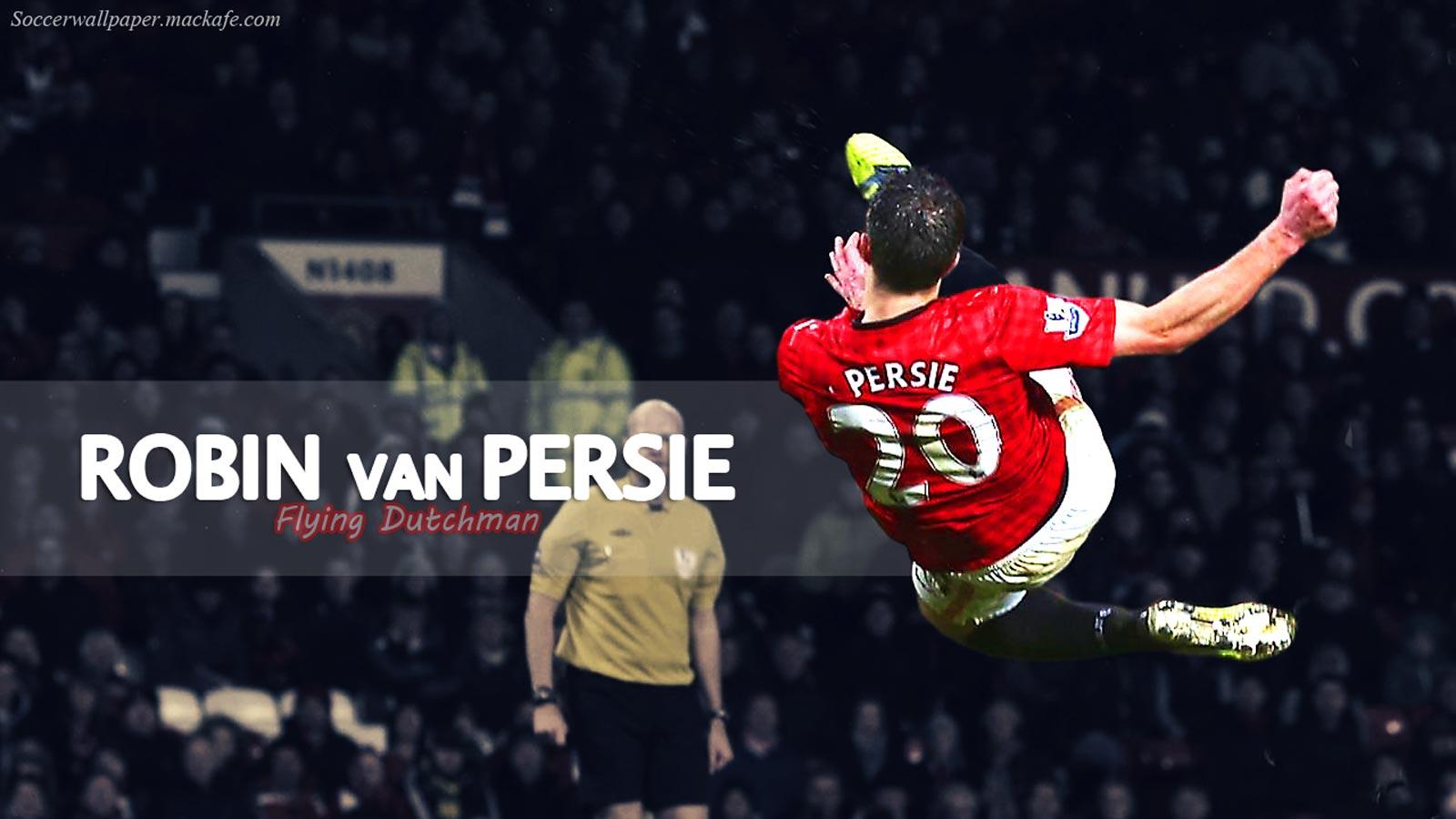 Robin Van Persie Football Wallpaper