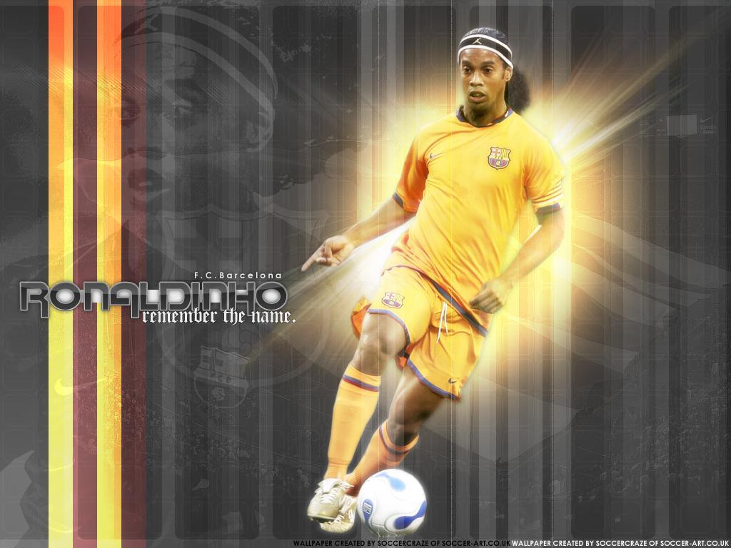 Ronaldinho Football Wallpaper
