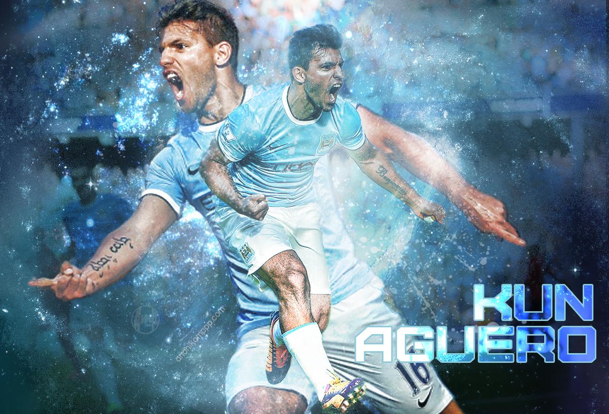 Sergio Aguero Football Wallpaper
