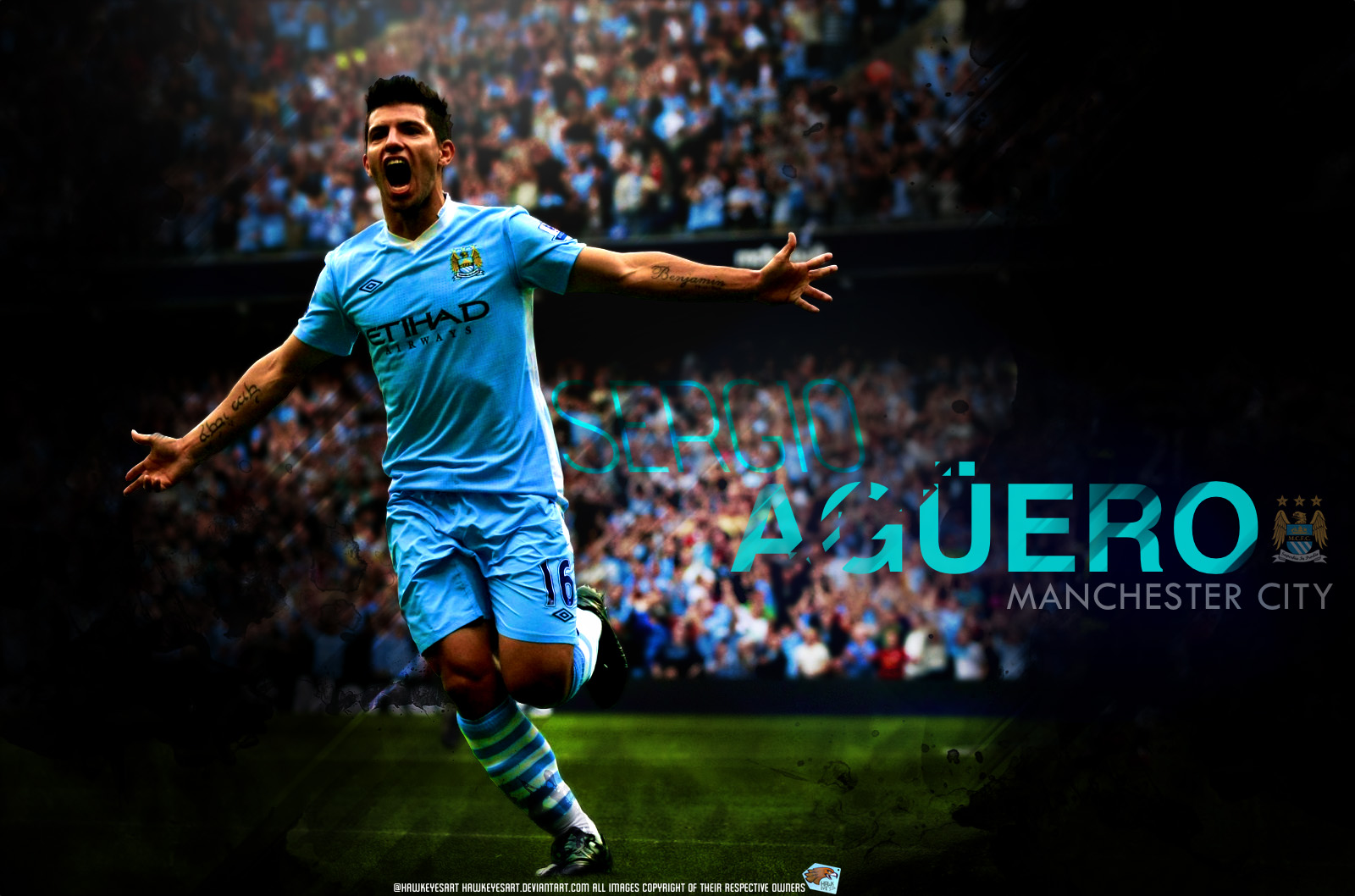 Sergio Aguero  Wallpaper