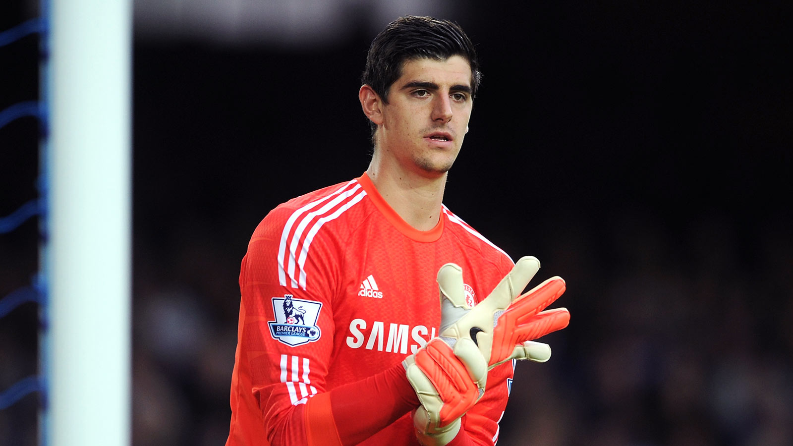 Thibaut Courtois Football Wallpaper