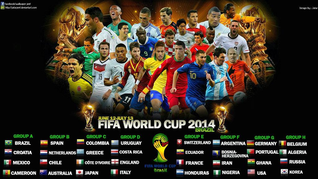 world cup 2014 football wallpaper