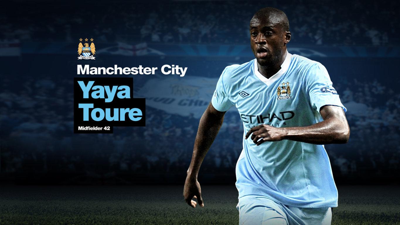Yaya Toure Football Wallpaper