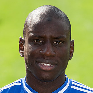 The 31-year old son of father (?) and mother(?), 189 cm tall Demba Ba in 2017 photo