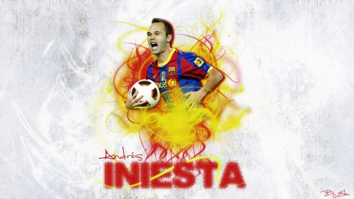 Andres Iniesta Wallpaper