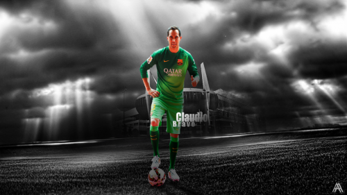 Claudio Bravo Football Wallpaper
