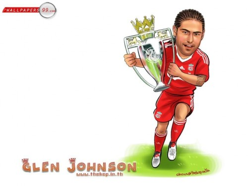 Glen Johnson Wallpaper