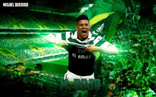 Marcos Rojo Football Wallpaper